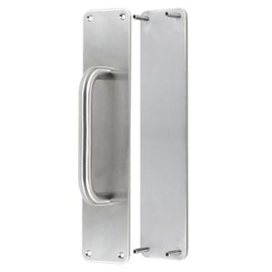 Picture of Sabre Concealed Push/Pull Plate Set - 65mm